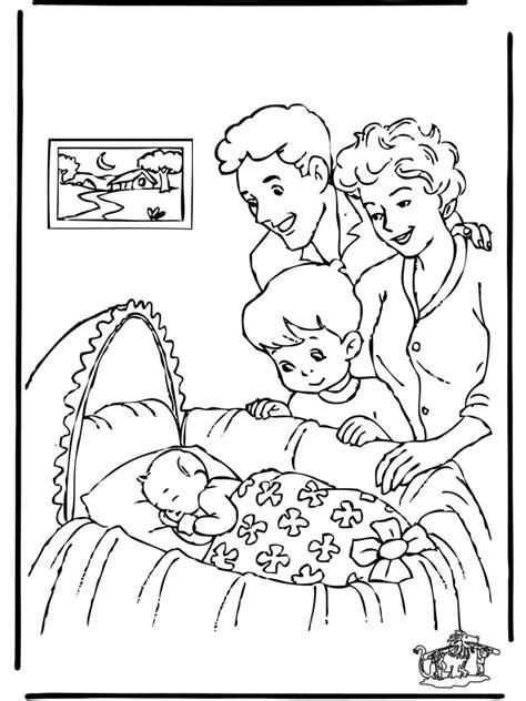 Baby 6 - Malvorlagen Geburt
