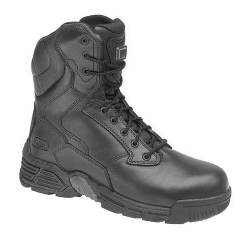 magnum stealth 8 leather safety boots composite toe caps