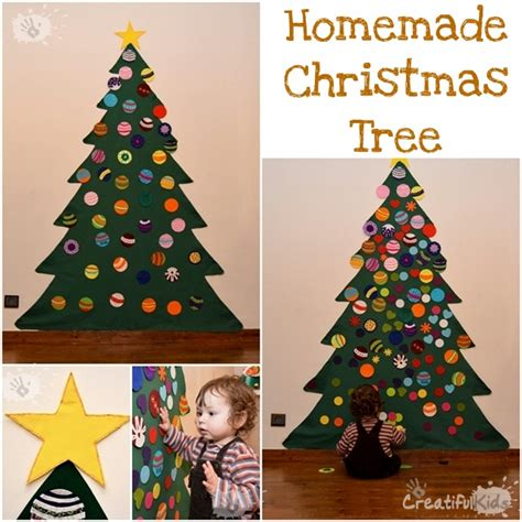 diy felt christmas tree for kids creatifulkidscreatifulkids