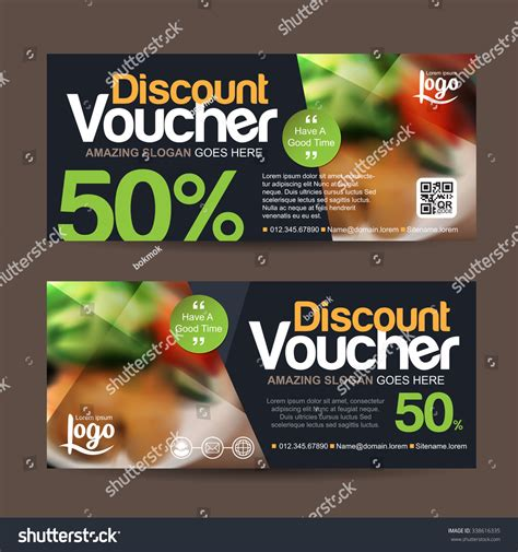 discount vouchers groombridge place discount voucher template clean modern pattern stock