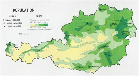 population density map of switzerland nationmaster maps of austria 17 in total