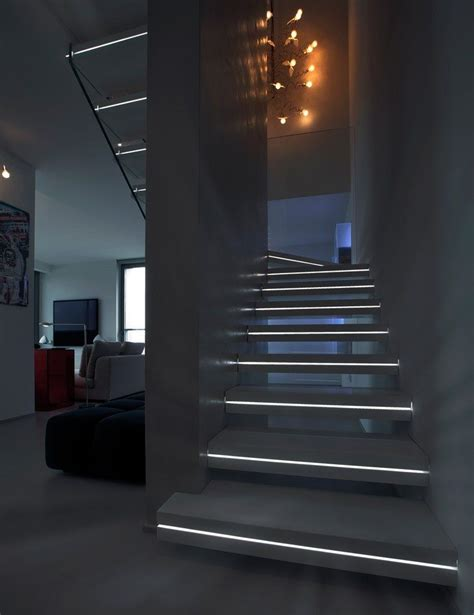 Modern Lighting Ideas modern lighting ideas that turn the staircase into a centerpiece