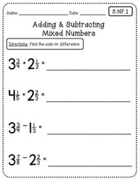 Common Math 5th Grade Worksheets by 1000 Images About 5th Grade Math On 5th Grade