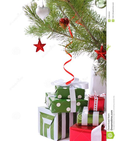 Gift Box Tree - gift boxes tree stock images image 31686404