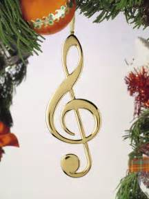 Clef christmas ornament music gift christmas music ornaments