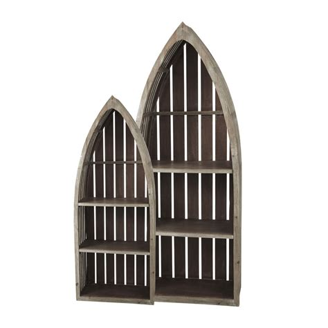 boat shaped display shelf 2 st malo wooden boat shaped shelves w 41cm and w 60cm