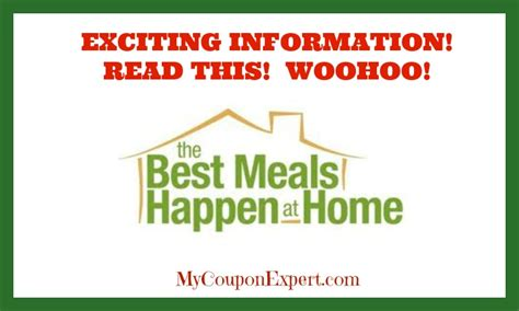 Best Meals At Home by Coupon Booklets Archives Coupon Expert
