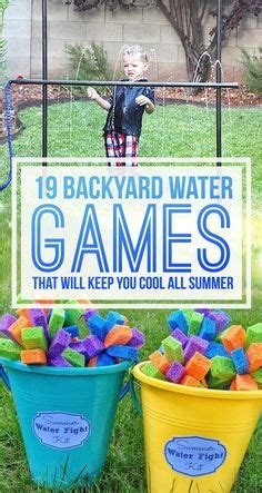 backyard water birthday party 1000 ideas about backyard water parks on pinterest