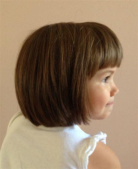 bob haircut young little girl haircut bob hair cut shorter hairstyles for