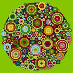 color mandala don t eat the paste circles mandala