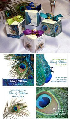Peacock Favor Ideas by 1000 Ideas About Peacock Wedding Favors On