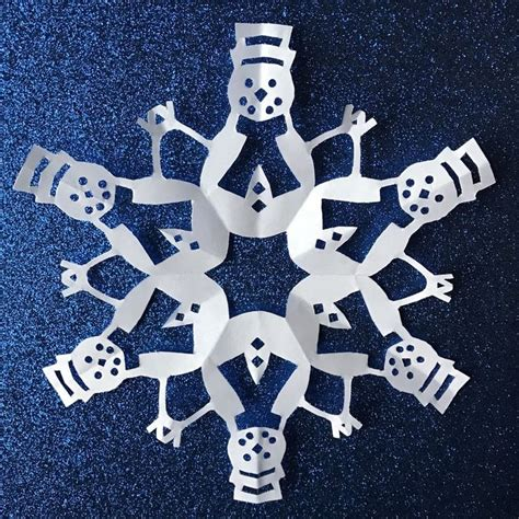 snowflake pattern snowman 147 best paper snowflake patterns images on pinterest at