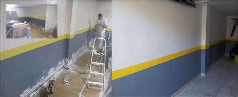 pintar garaje foto quitar humedades y pintar garaje de pintura en