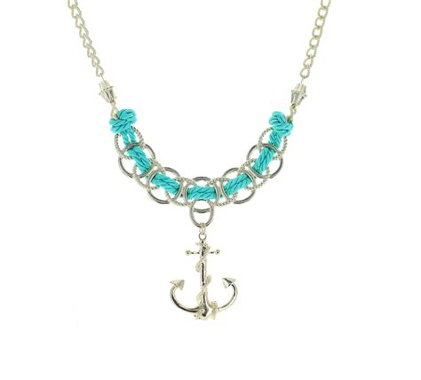 rope jewelry anchor rope necklace best of everything shopping