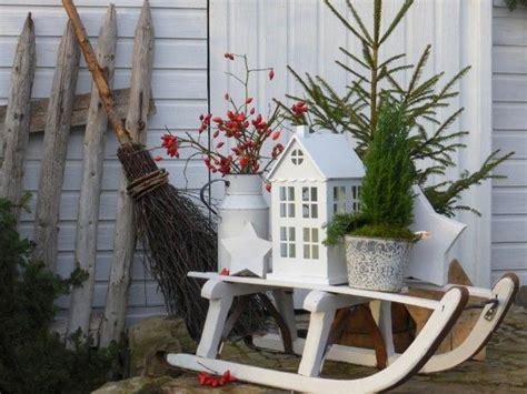 Winterdeko Balkon by Die Besten 17 Ideen Zu Weihnachtsdekoration F 252 R Drau 223 En