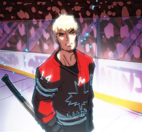 Kaos Anime Canada Knows Hockey yarrninja