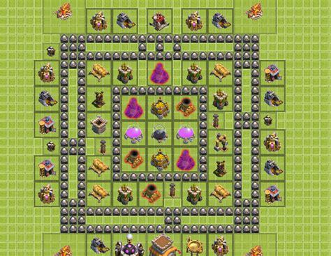 base layout strategy clash of clans clash of clans builder come progettare un villaggio al meglio