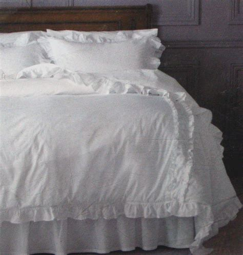 white shabby chic bedding simply shabby chic heirloom twin comforter set sham