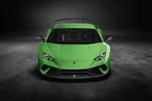 Front Of Lamborghini Lamborghini Huracan Performante Front View Motor Trend