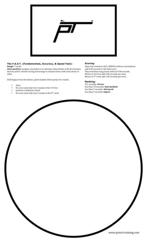 printable shooting drill targets printable targets