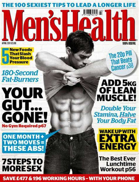 Mens Health Malaysia April 2012 magazine cover s health april 2011 uk