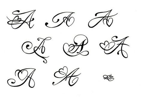tattoo font for initials first initial tattoo but obviously not an a i just love