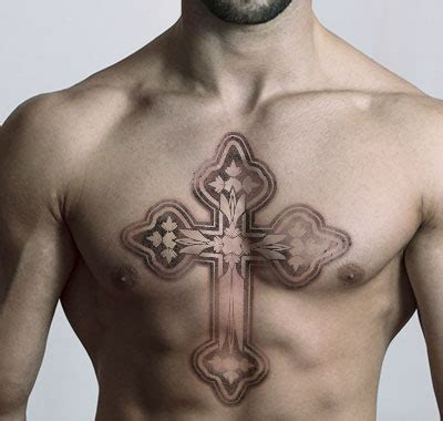 tattoo cross on chest what do different prison tattoos