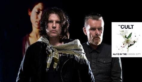The Cult Band band the cult to peform at stiefel theatre the