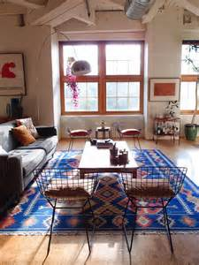 home interior design rugs electic blue kilim rugs living room