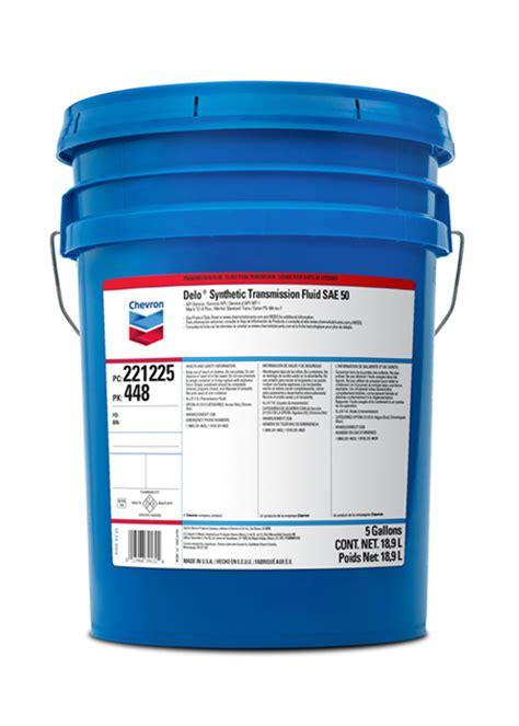 Oli Petro Trans Hd 50 chevron delo 174 syn trans xe sae 75w 90 33 lb pail