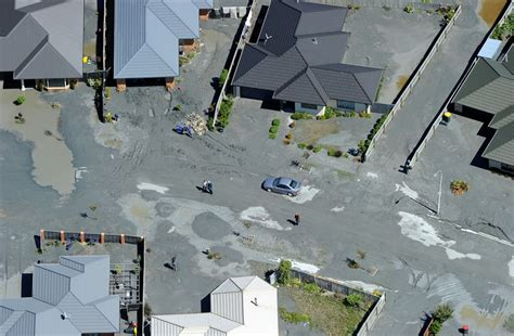 earthquake liquefaction boulder vs house landslide losses in the christchurch