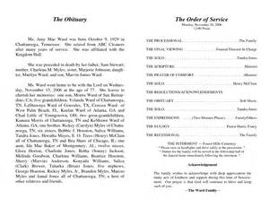 obituary outline template best photos of obituary tribute exles memorial sle