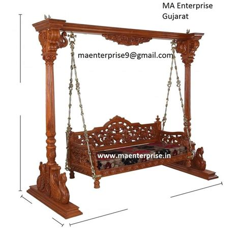 swing jhula wooden jhoola swing for living room from india buy