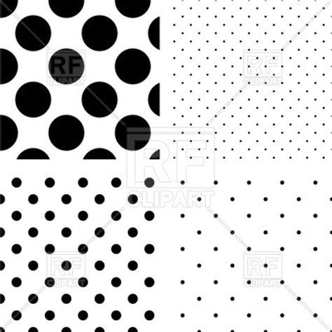 polka dot pattern ai file black and white polka dot seamless patterns royalty free