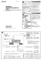 Sony Car Radio Manual In The Česky Czech Language List