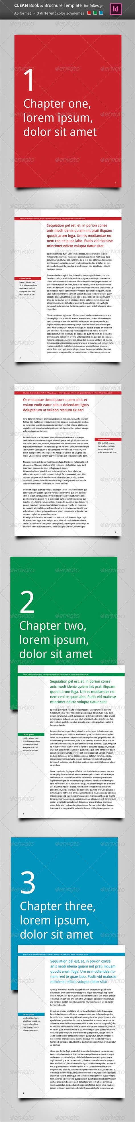 brochure templates for books print templates clean book brochure template