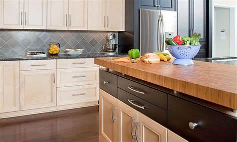 bamboo butcher block island 45 best images about modern butcher block counters on