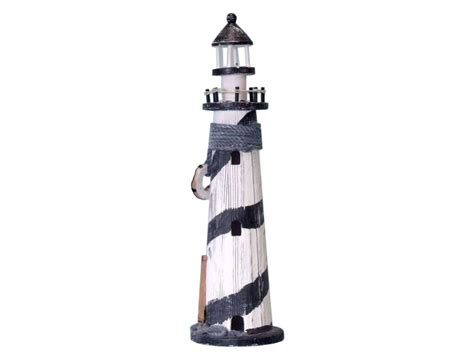 Cheap Lighthouse Decor by Sailboat Wooden Lighthouse 18 Quot