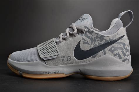 cool basketball shoes for sale new released nike pg 1 baseline wolf grey cool basketball