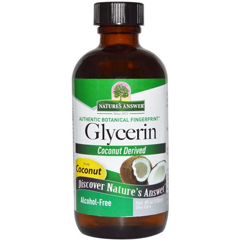 Vegetable Gliserin Vg Vegetable Glycerin nature s answer vegetable glycerin af free 4 fl oz evitamins india