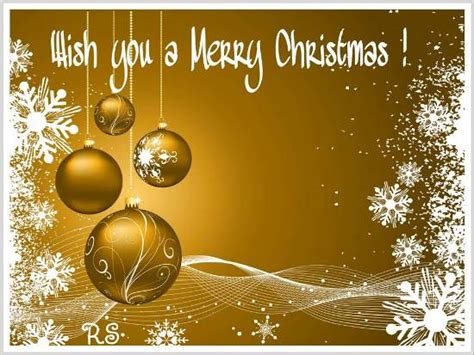 golden christmas   merry christmas wishes ecards