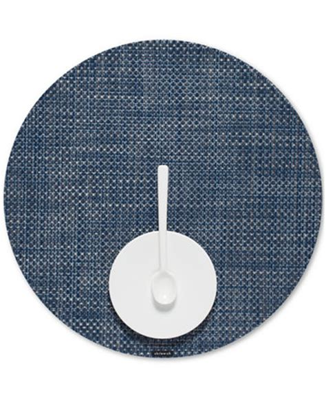 Chilewich Woven Vinyl Placemats In by Chilewich Basketweave Woven Vinyl Placemat Table