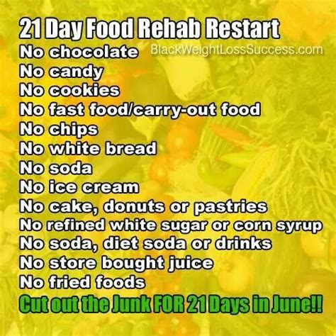 Rehab Weight Loss And Diet by 21 Day Food Rehab Challenge Gastric Sleeve