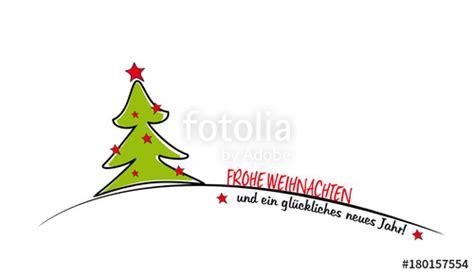 quot ein gr 252 ner weihnachtsbaum mit spruch quot stockfotos und