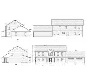 Elevation And Floor Plan Of A House projects may engineering llc