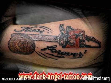 tattoo ideas quiz chainsaw images ink chainsaw