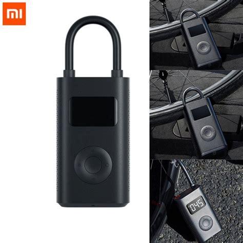xiaomi mijia pompa angin smart pump digital portable mjcqbqj black jakartanotebookcom