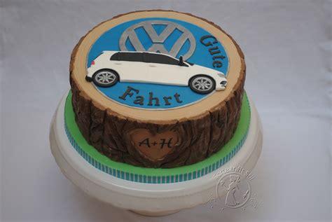 Golf Auto Torta vw golf torte trifft stil
