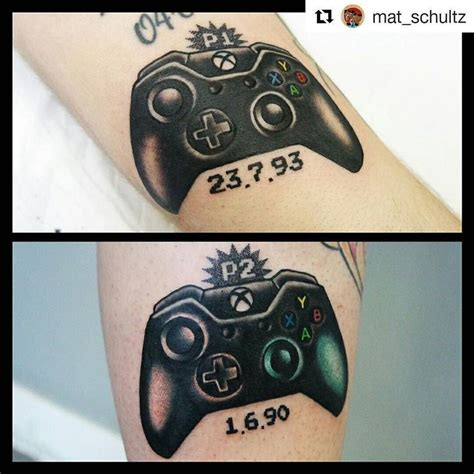 xbox tattoo 17 best images about tattoos on sleeve badass