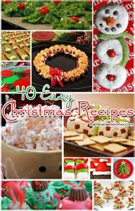 40 easy christmas recipes pinpoint